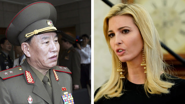 """Ivanka Trump """"enfrentará cara a cara"""" a un general norcoreano"""