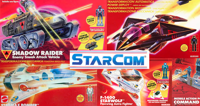 Starcom giocattoli toys coleco Mattel