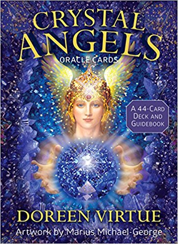 Crystal angels of abundance oracle cards,  crystal oracle cards,  animal tarot cards , angel therapy oracle cards