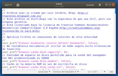 Acelerador para Firefox