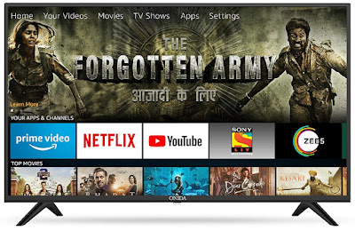 4. Onida Full HD Smart IPS LED TV – Fire TV Edition (43 inch)