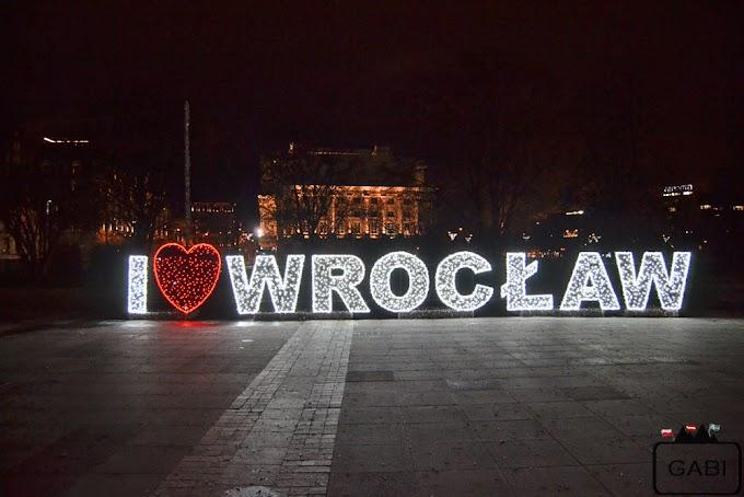 Spacery po świątecznym Wrocławiu