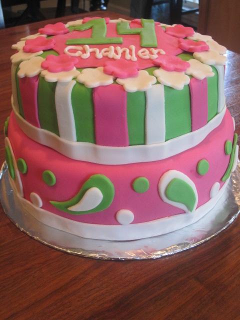 Cake It Pretty Happy Birthday Chanler