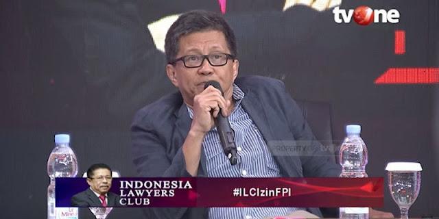 ILC Hapus Video 'Presiden Nggak Ngerti Pancasila'