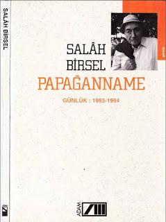 Salah Birsel - Papağanname - Günlükler - 8 - (1993 - 1994) yılları