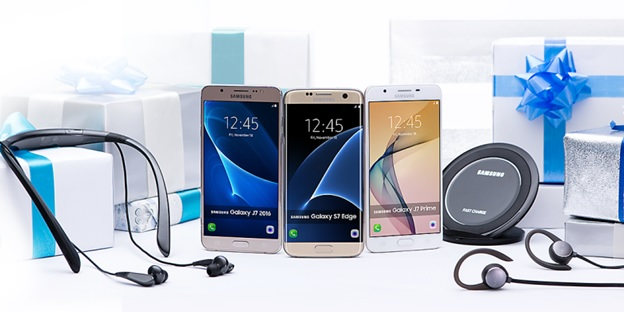 Samsung Christmas Giveaways