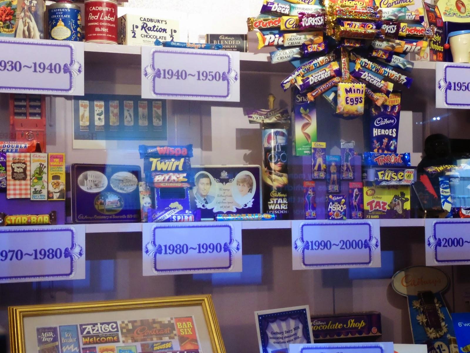 Petit tour à la chocolaterie Cadbury World