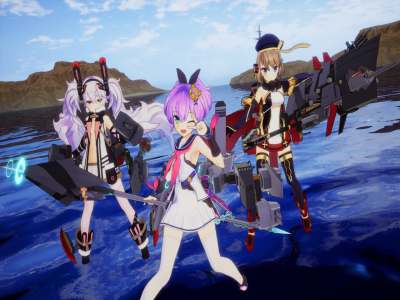 Azur Lane Crosswave Highly Compressed Free Download