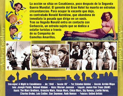 Una noche en Casablanca - [1946]