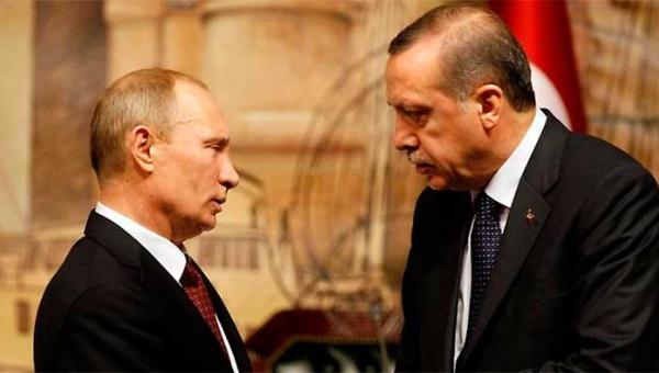 Putin y Erdogan buscan reactivar relaciones diplomáticas