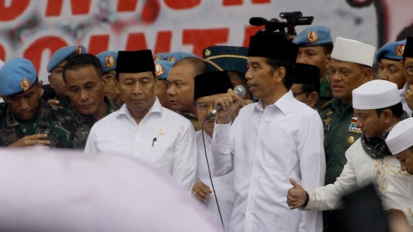Panitia Batal Undang Jokowi ke Reuni Akbar 212