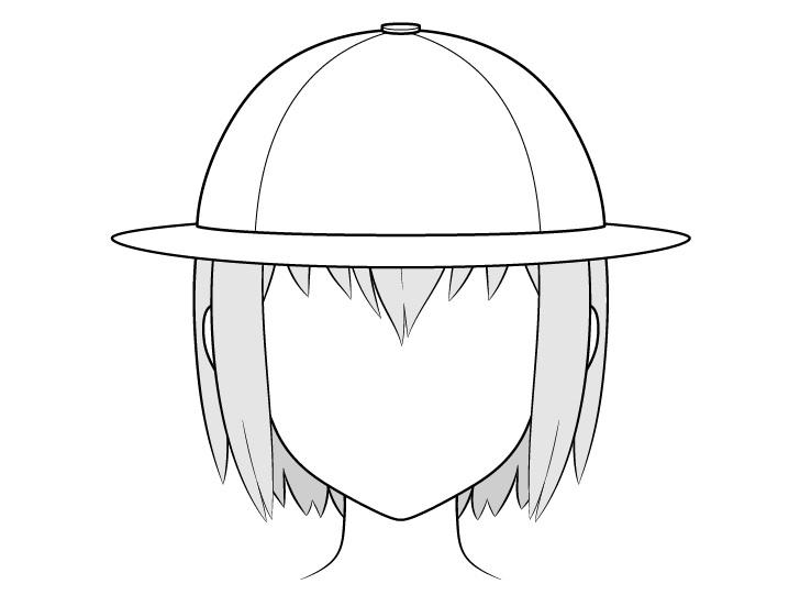 Gambar topi penjelajah anime