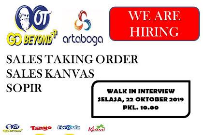WALK INTERVIEW PT ARTA BOGA CEMERLANG Banjar