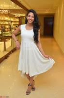 Daksha Nagarkar Cute Beauty in Sleeveless White Dress at Khwaaish Exhibition Launch 2017 ~  Exclusive 040.JPG