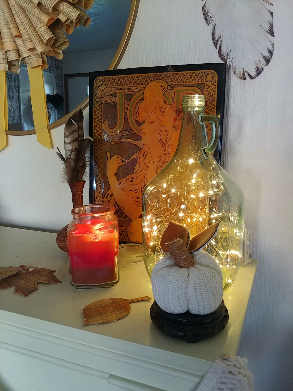 Fall Decor - Working With Vignettes