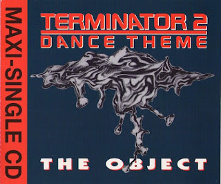 Portada del maxi-single CD de: Theme Terminator 2 - Dance