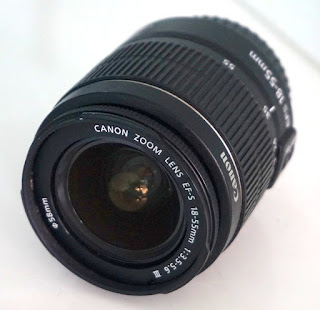 Jual Lensa Kit Canon 18-55mm III IS