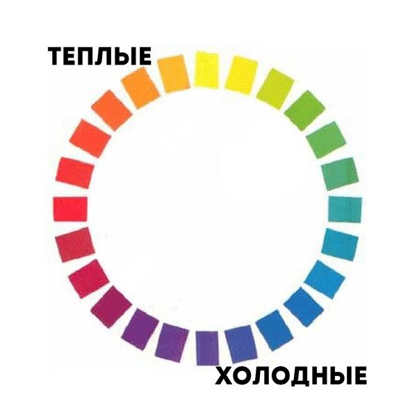 Подробный цветовой круг