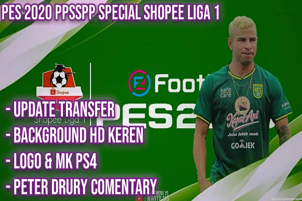 Download PES 2020 PPSSPP Chelito Final Versions Mod Shopee