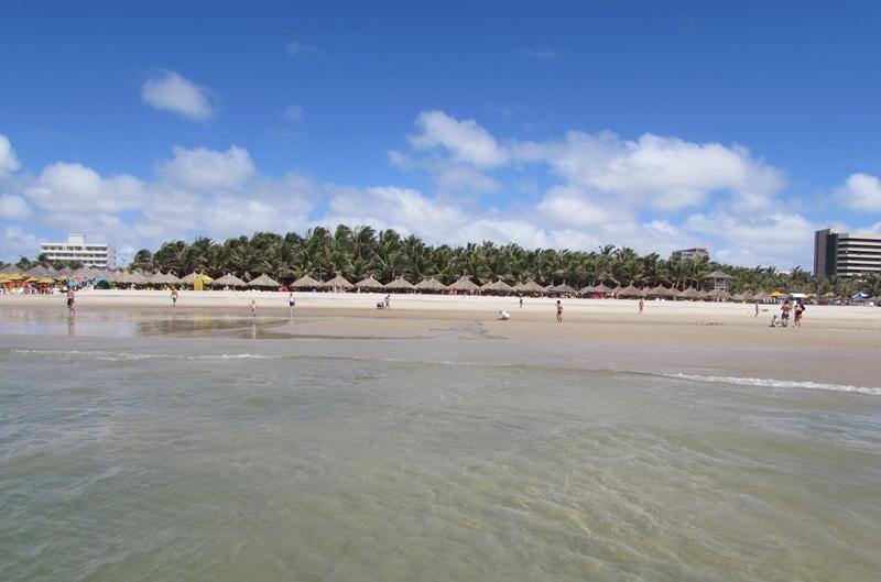 Melhor praia para banho de mar em Fortaleza Ceará