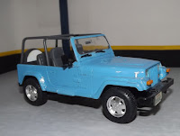 Jeep Wrangler Open Top Tamiya 1/24