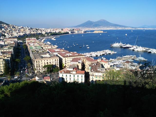 panorama dalla chiesa di Sant'Antonio a Posillipo-Napoli