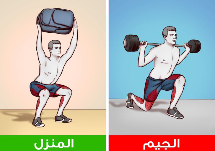 How to do gym exercises at home