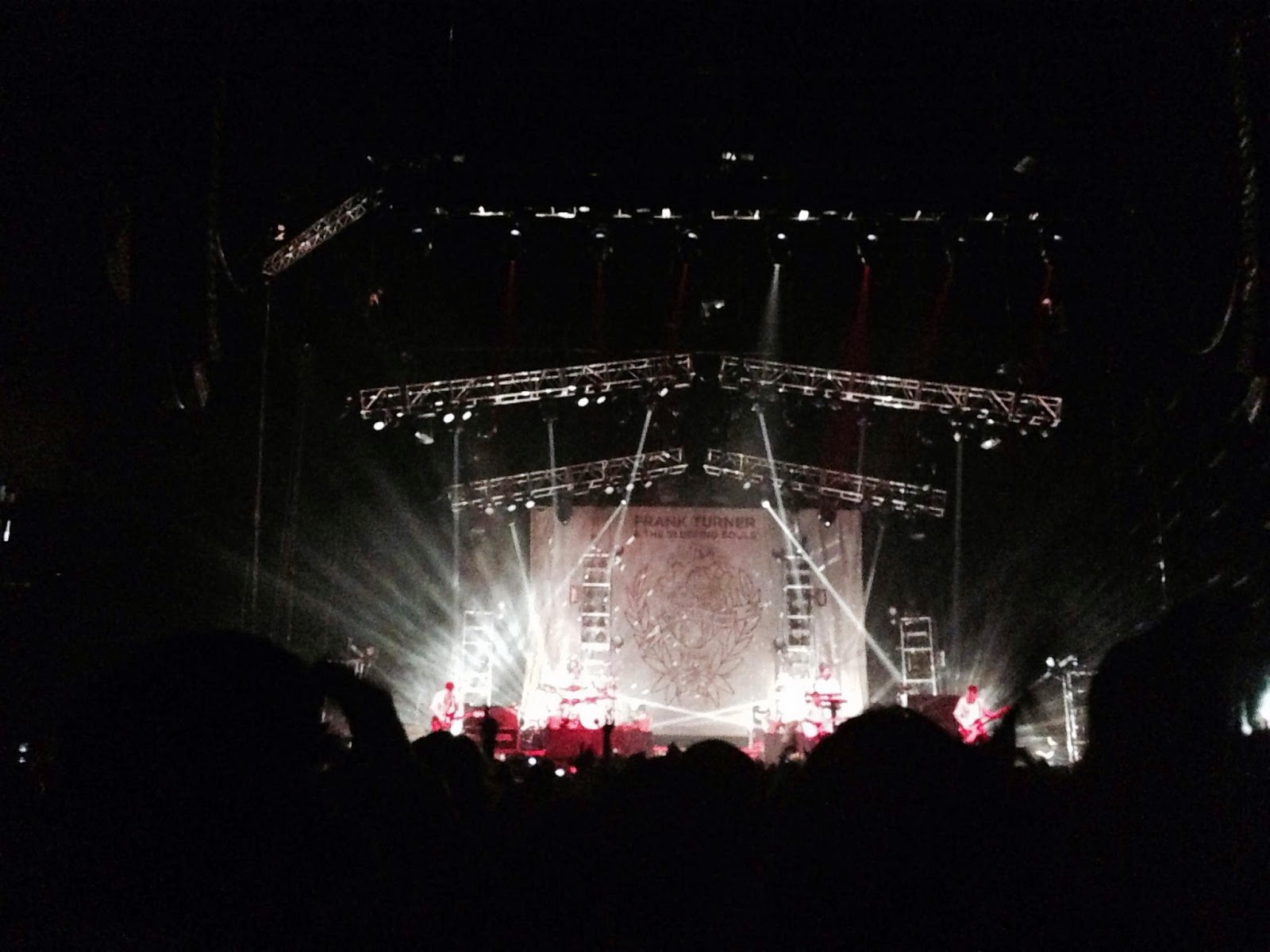 Frank Turner at the O2 Arena, London