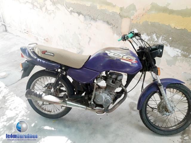 PM apreende motocicleta que era conduzida por menor de idade em Campo Grande, RN