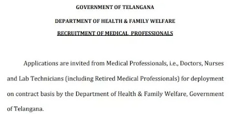 Telangana To Recruit 50000 Medical Students to Covid19 Patient