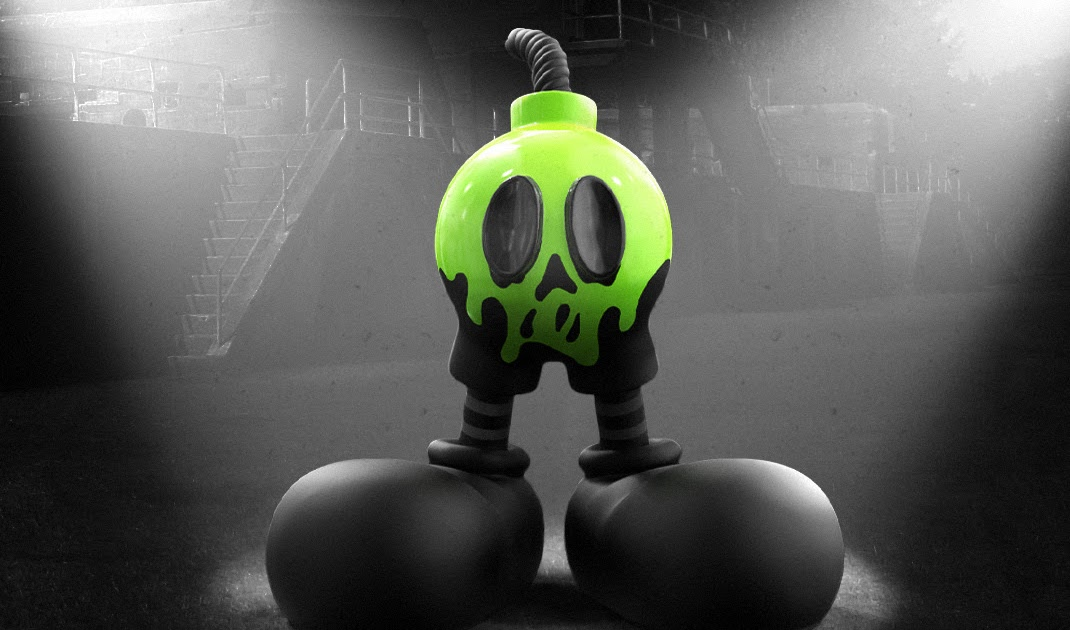 The Blot Says Friendly Fire Infiltrator Edition Resin Figure By Jason Freeny X Mighty Jaxx