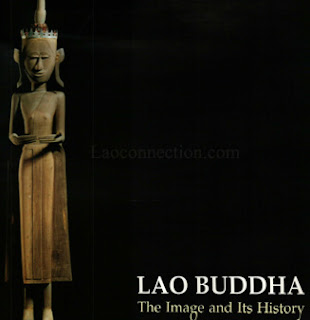 Cover photo of the book Lao Buddha: The Images and its History by Somkiart Lopetcharat