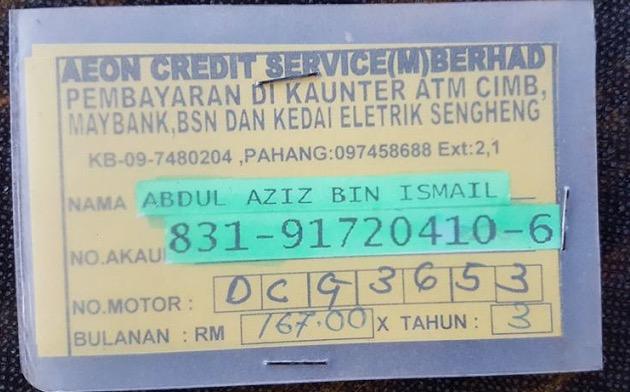 AEON Credit Kebas Duit Simpanan Haji/Umrah Pelanggan Sampai Licin