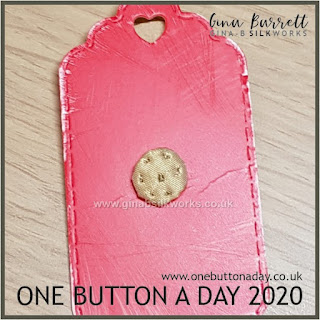 One Button a Day 2020 by Gina Barrett - Day 146 : Mary Rose