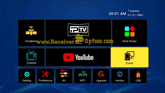 DISCOVERY 6666 1506TV 512M 4M NEW SOFTWARE WITH GO SAT PLUS V2 & G SHARE PLUS V2 OPTION 11 JUNE 2021