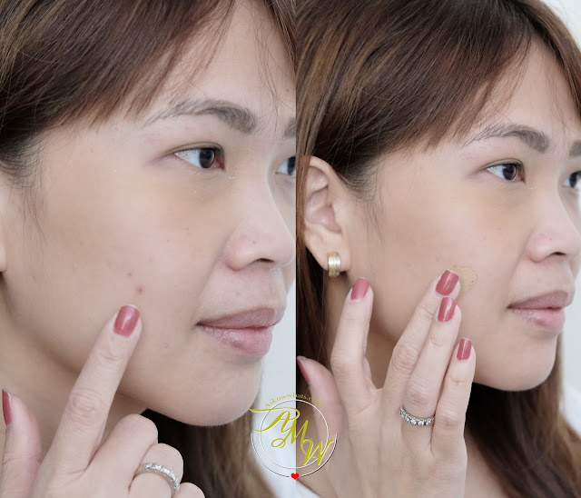 before and after photo of Makeup World Cover Up Concealer Nude Review by Nikki Tiu of www.askmewhats.com