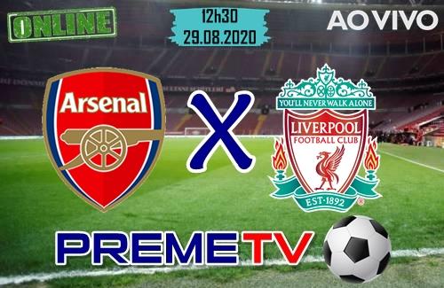 Arsenal x Liverpool Hoje Ao Vivo