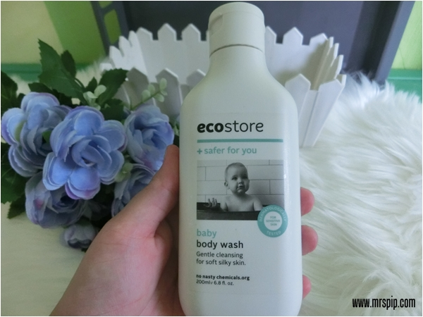 Ecostore environmentally friendly product safe for baby