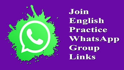 Join English Practice WhatsApp Group Links