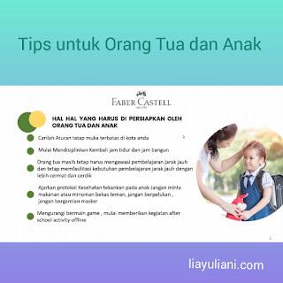 Tips untuk orang tua dan anak saat PTM
