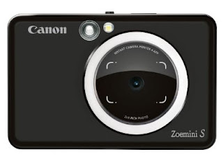 Shoot, print and share selfies on the go with the Canon Zoemini S instant camera printers