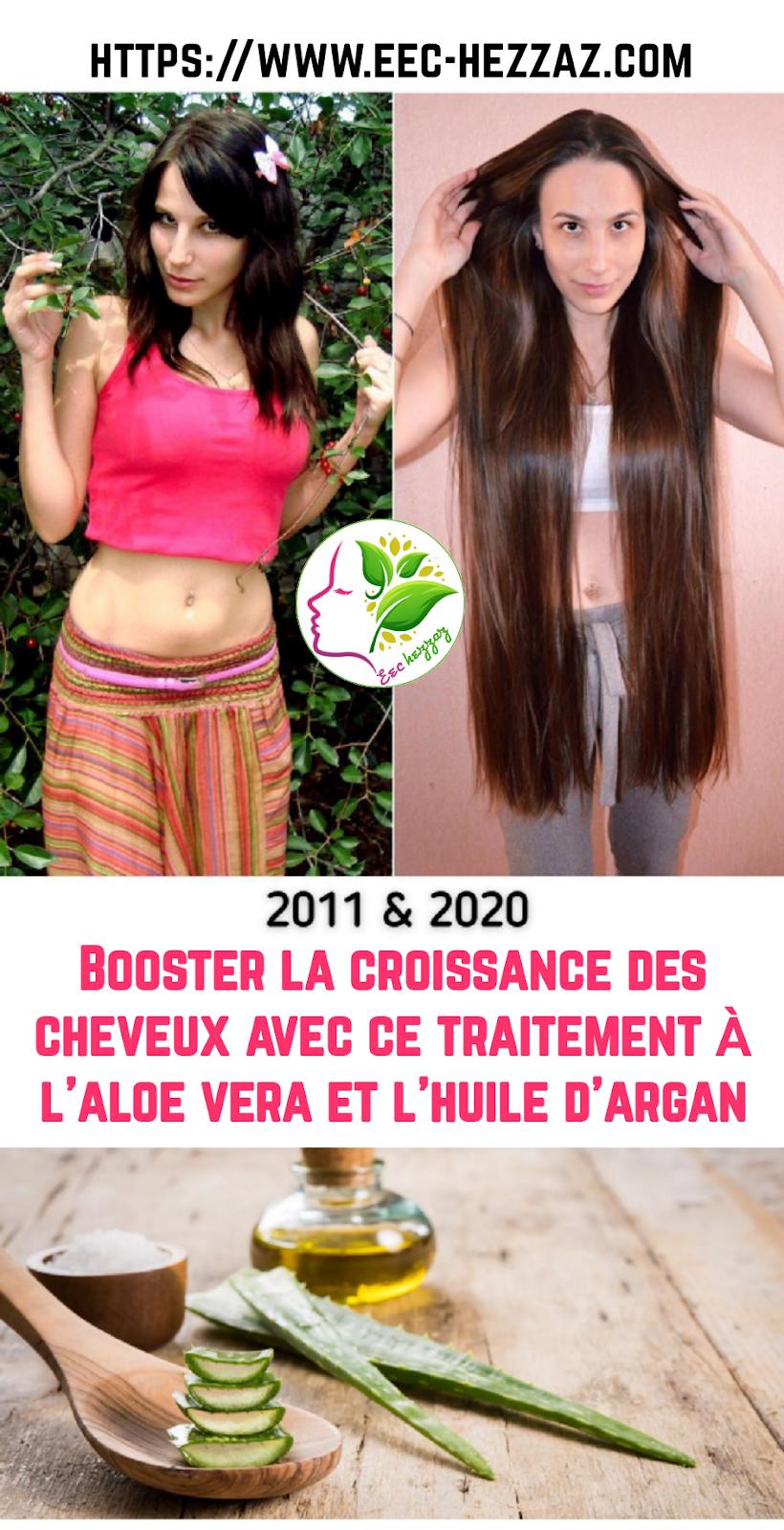 Booster la croissance des cheveux avec ce traitement à l'aloe vera et l'huile d'argan