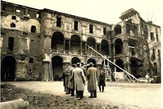 Accademia Militare bombardata