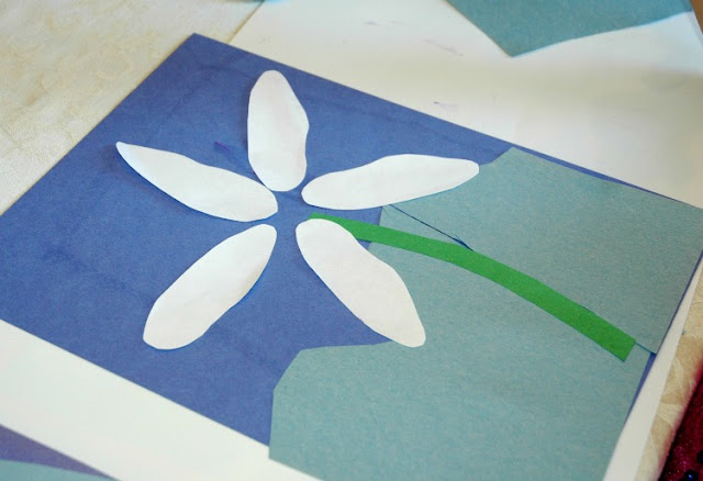 Edelweiss Flower Craft for Switzerland, Austria, Heidi, or Sound of Music