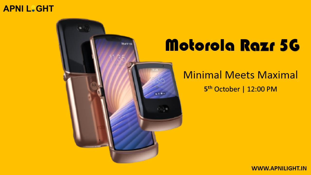 Motorola Razr 5G Aaj Hua Launch Janiye Kimat Aur Specifications