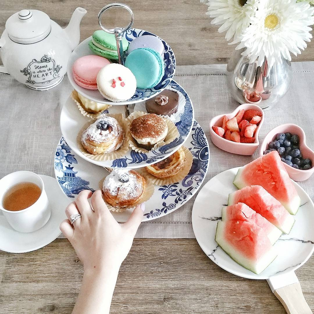 10 Fun Indoor Activities to do with Your BFFs - Get Together for an Afternoon Tea Potluck