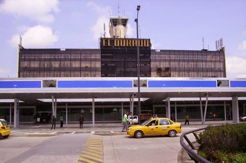 Fachada do Aeroporto El Dorado, Colômbia