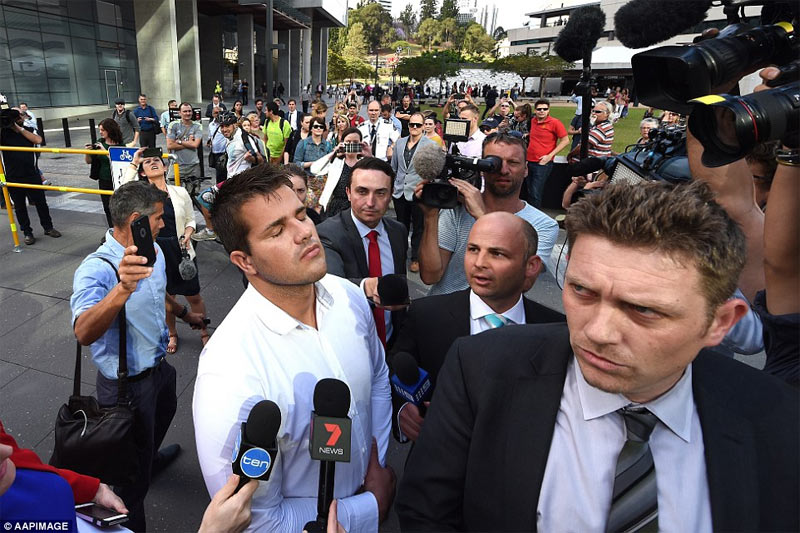 Gable Tostee found not guilty after girlfriend fell to death from his apartment balcony