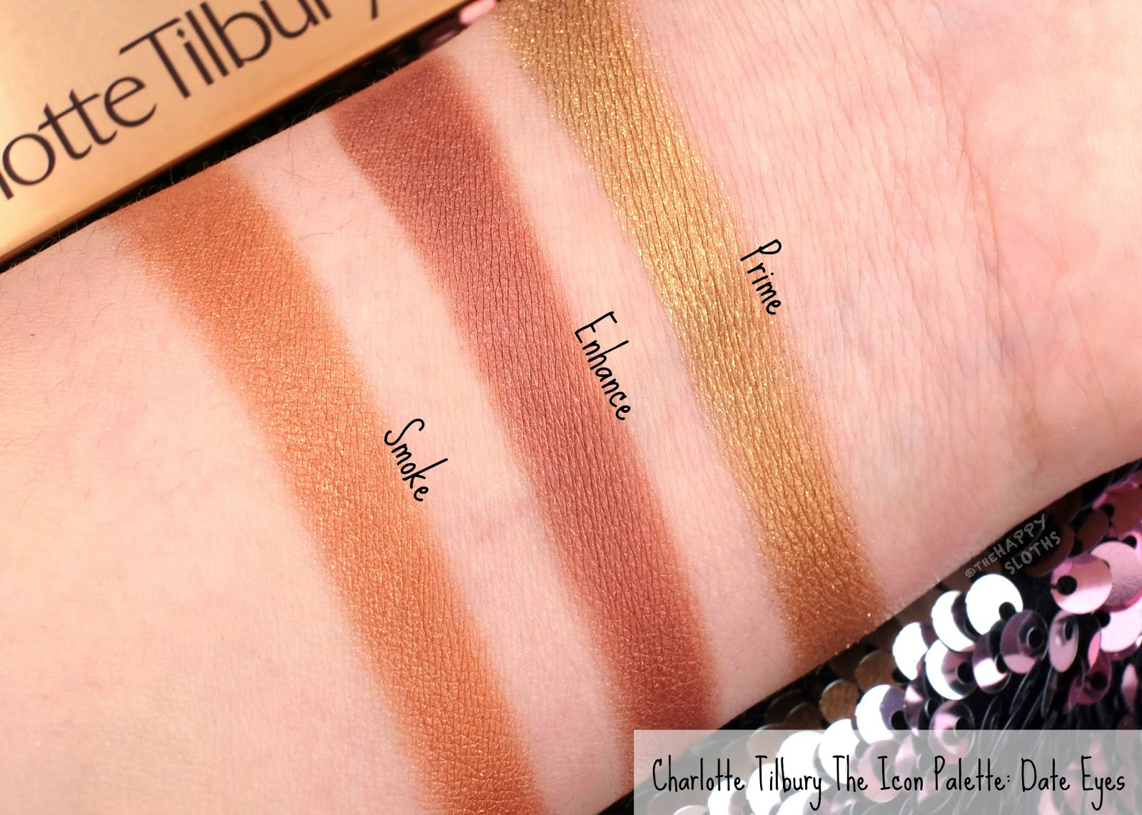 Charlotte Tilbury | The Icon Eyeshadow Palette: Review and Swatches