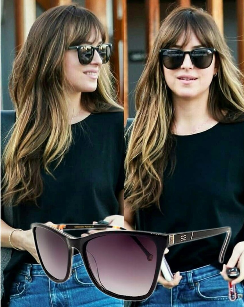 Óculos de sol das famosas para o verão 2020 - Dakota Johnson
